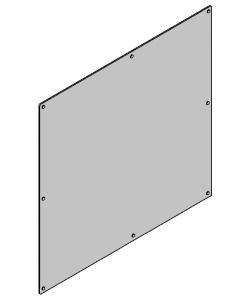 Lexan, Enclosure Front