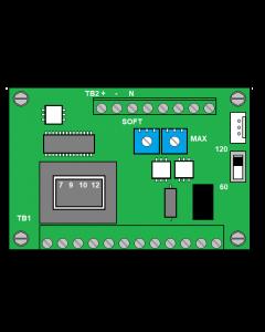 PCB, UC/US 220V Hopper/Bowl Controller, Selectable Output, Line Voltage Compensation