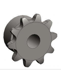 Machined Sprocket, 12 Tooth