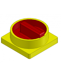 AB IEC Load Switch Control Knob