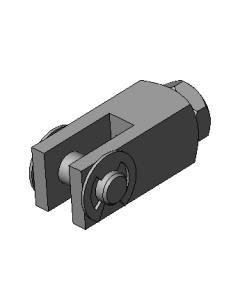 Clevis, Piston Rod (D-166-3)