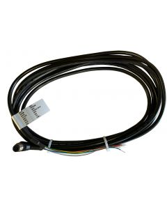 Cable for TP-750025 (M12 CON-90A)  -180 Inch 90 Degree M12 Connector Digital Load Cell Cable with Free Ends