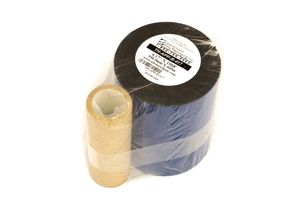 "Thermal Ribbon 4.17"" x 1969' Black (TEC)"