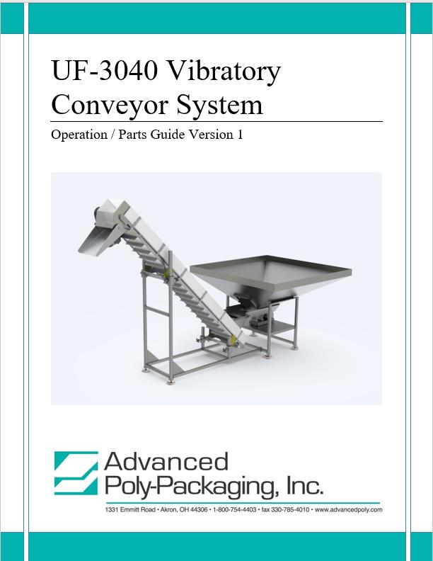 Conveyor Manuals