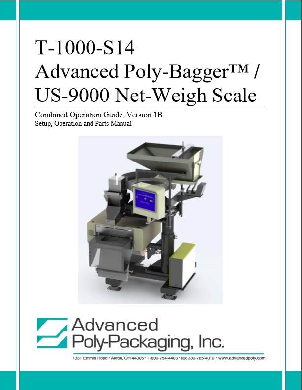 Automatic Scale Manuals