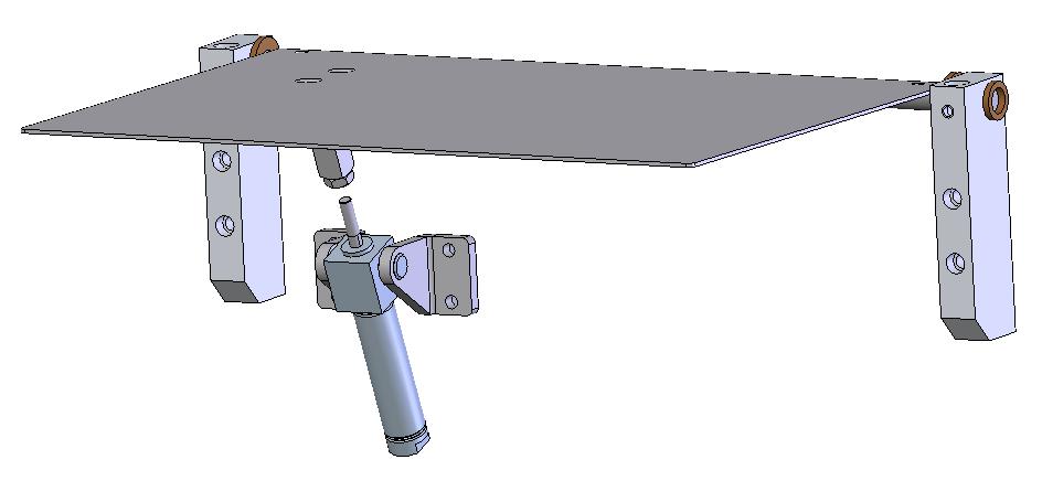 Horizontal Drop Plate Assembly