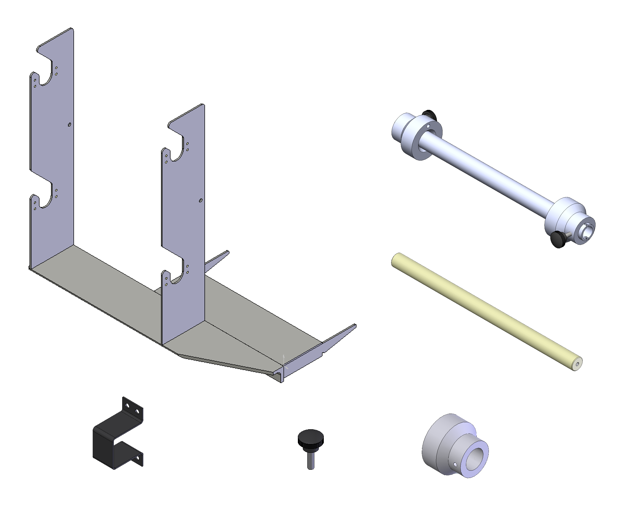 Dual Roll Holder Assembly