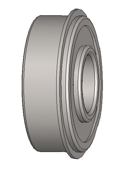 Bearing for Black Platen Roller
