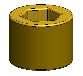 "Hex Plug, 1/8"" x 3/4"" Brass"