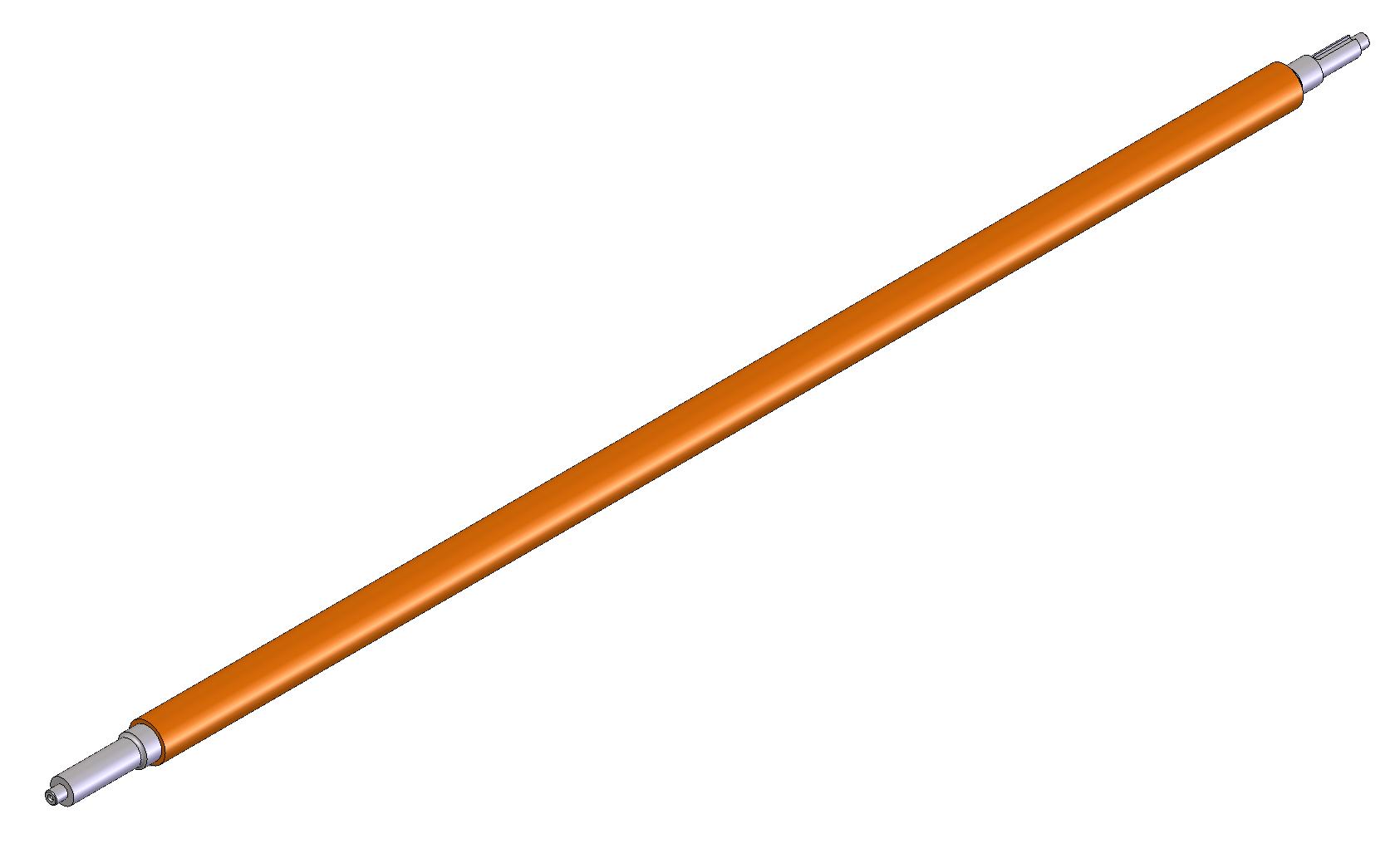 Driven Nip Roll, Ti-1000Z-S-18 Wide