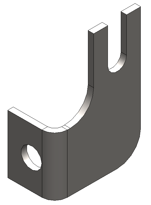 Lexan Clip- Left