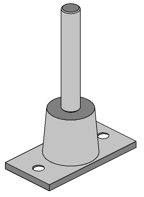Foot Mount Stud