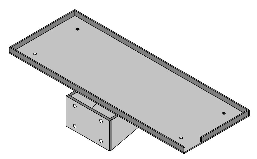 Module Support Shelf, US-4000
