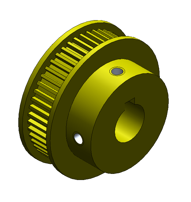 Pulley (Modified), Driven-Nip Roll
