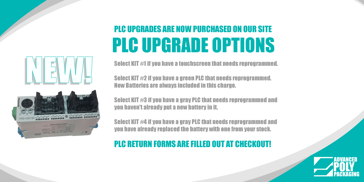 Select what kit you need, go to the cart, fill out the PLC return form and submit the order!