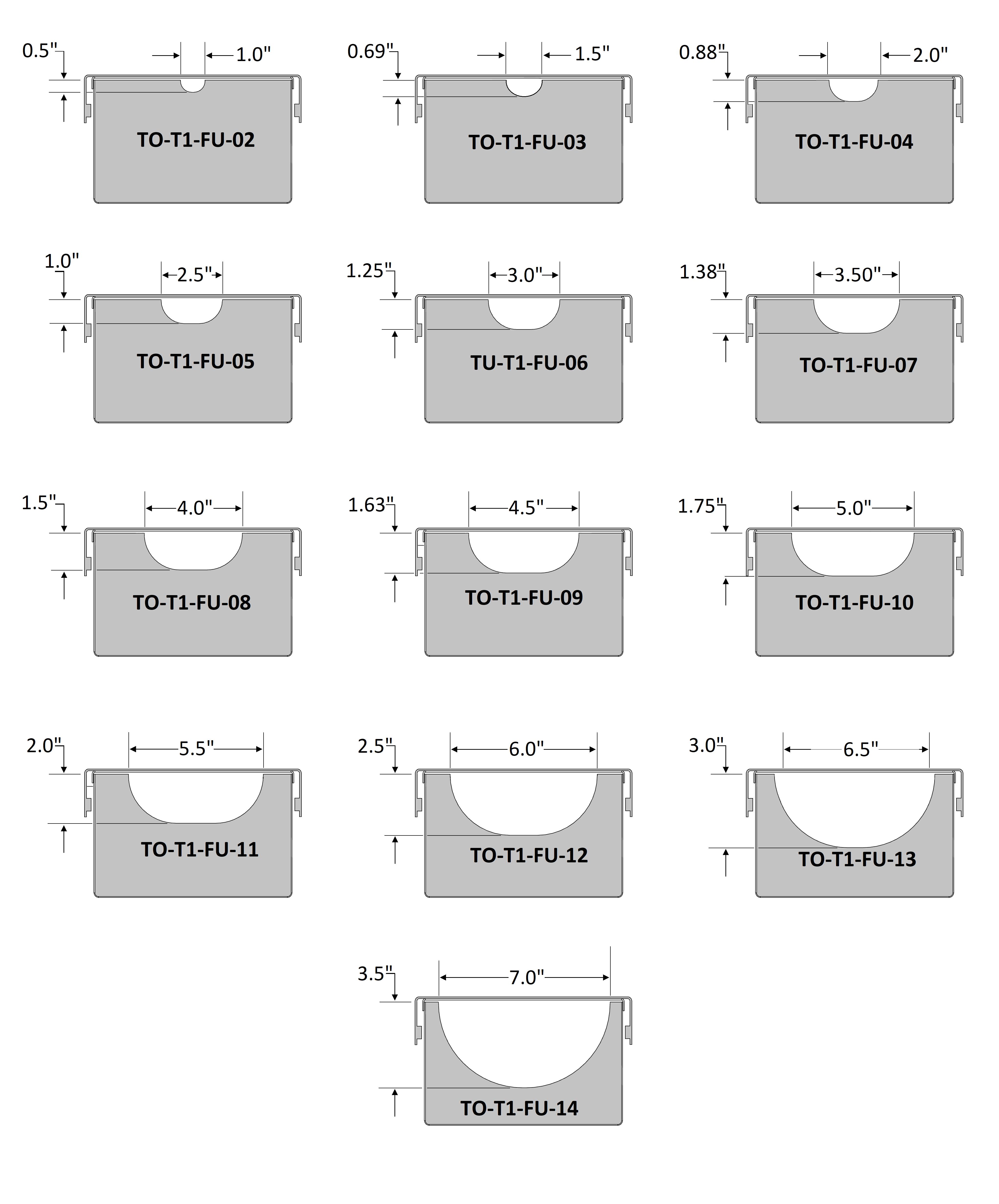 T-1000 Funnels