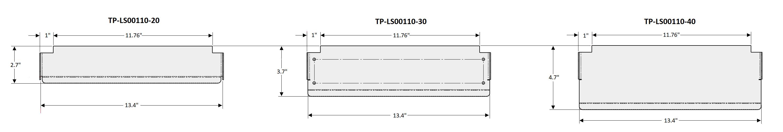 T-1000-S14 LS00110 Sizes